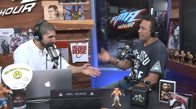 Renzo Gracie on MMA Hour Episode 249